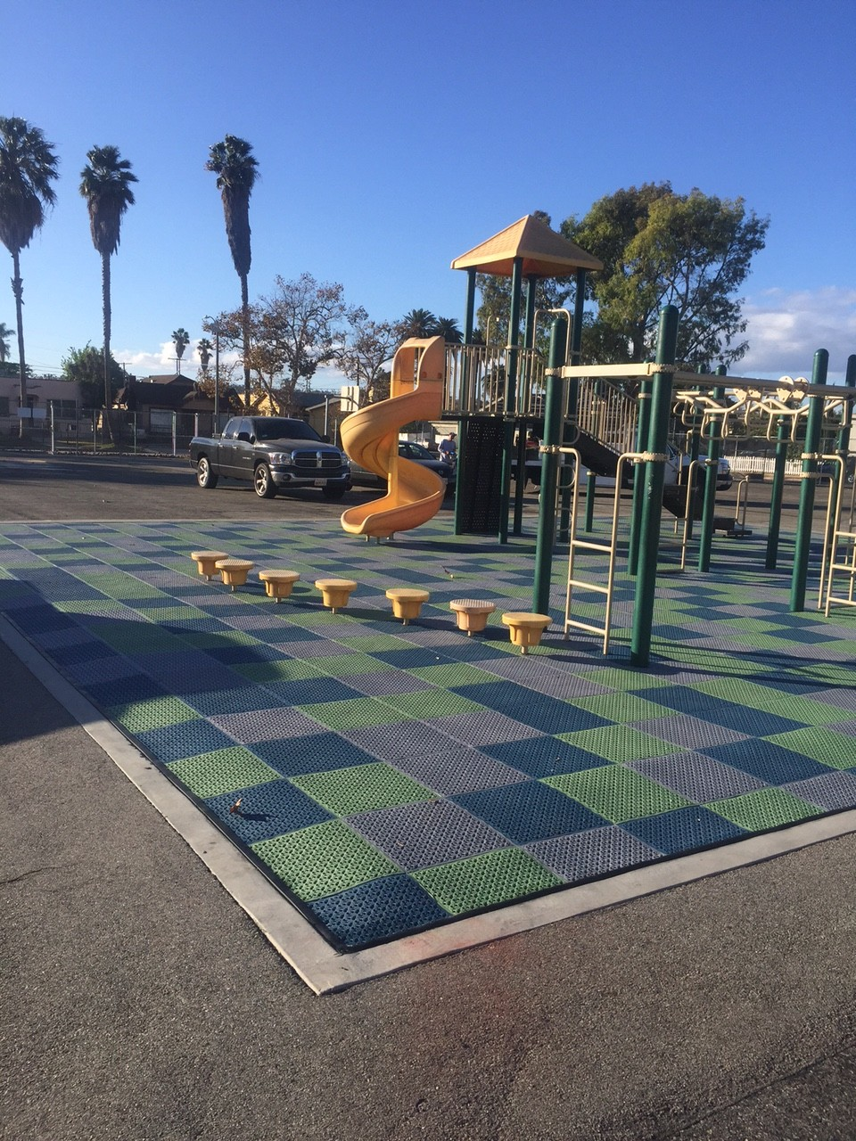 Careers in Construction join Community Playgrounds team