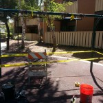 Playground Repair and Maintenance don't lose tenants Community Playground can make the repairs
