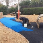 Play Area Builders install surface material