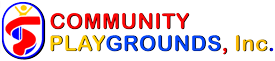 Community Playgrounds logo for footer