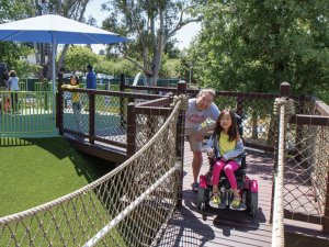 Magical Bridge Palo Alto is playground is for all abilities