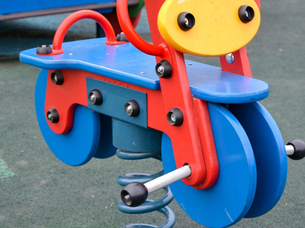 Rocking Toddler Playground Bike