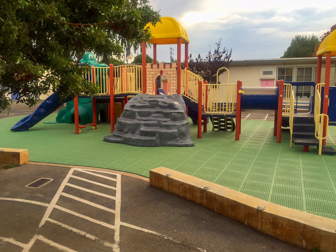 Playground Builds like this one for Walgrove Elementary takes only a few days