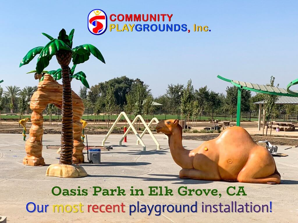 Oasis Park Elk Grove gets a new themed playground