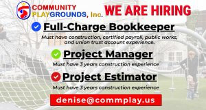 We are hiring Full Charge Bookkeeper, Project Manager, & Project Estimator