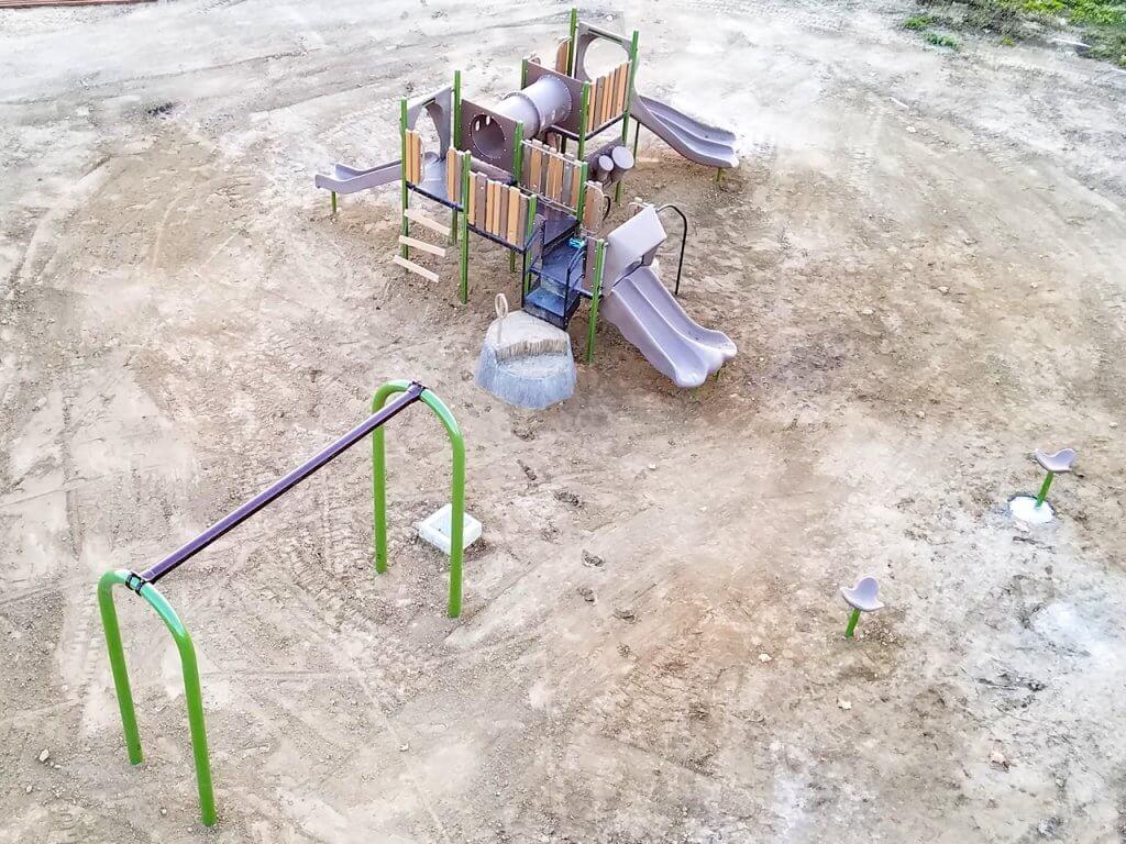New Playground Blanco Park in McFarland CA