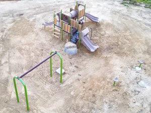 New Playground Blanco Park in McFarland CA
