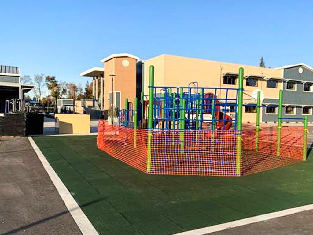 New Playground Build Quail Lakes Elementary School in Stockton, Ca